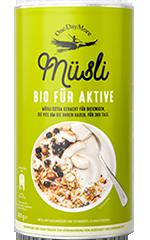 Müsli BIO für Aktive