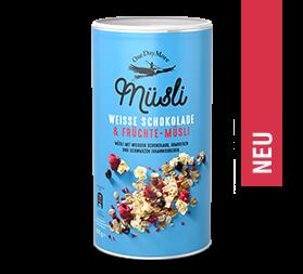 Weisse Schokolade & Früchte-Müsli