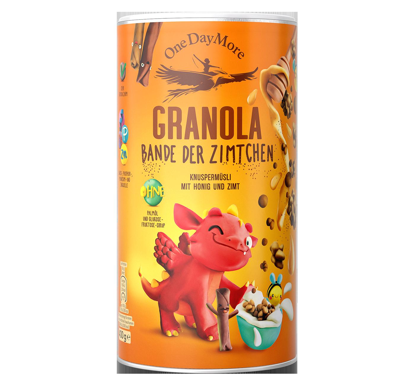 Granola Bande der Zimtchen OneDayMore