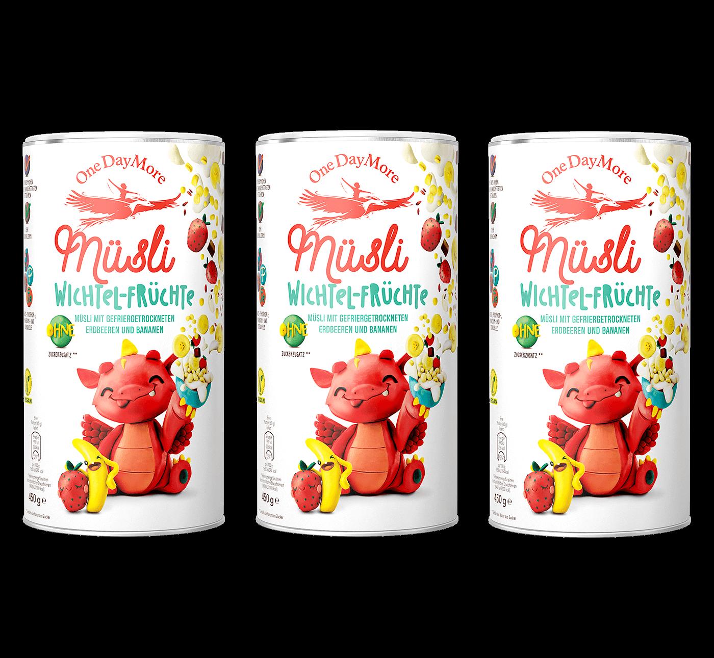 Dreifache Fruchtpower OneDayMore