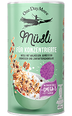 Müsli für Konzentrierte Neues Rezept