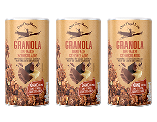Granola dreifach schokoladig Set