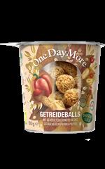 Getreideballs Erdnüssen und Paprika OneDayMore
