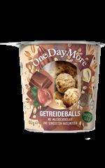 Getreideballs - Milchschokolade und Haselnuss