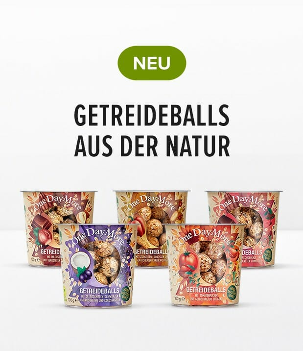 Getreideballs OneDayMore