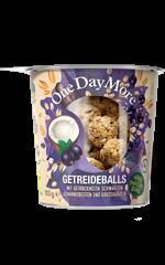 Getreideballs - Schwarze Johannisbeere und Kokos