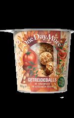 Getreideballs - Tomate und Oregano