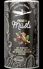 Premium Müsli Mit belgischer Schokolade OneDayMore