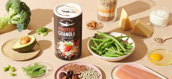 Protein, ein ernährungsheld - wie viel sollte man essen und wo gibt es denn es? OneDayMore